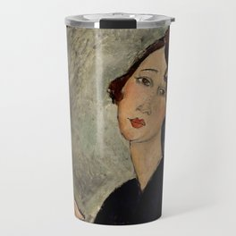 "Amedeo Modigliani ""Portrait of Dedie"" Travel Mug"