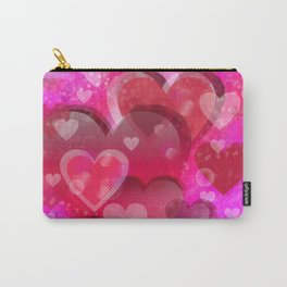 Love illustration to valentines day Carry-All Pouch