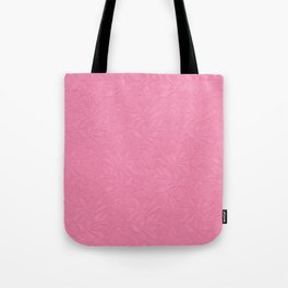 Girly trendy fuschia pink elegant floral french lace Tote Bag