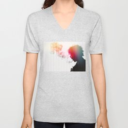 Chaos is a friend of mine Unisex V-Neck