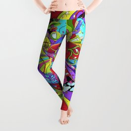Out of Space by dana alfonso Leggings
