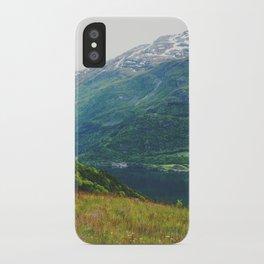norwegian west iPhone Case