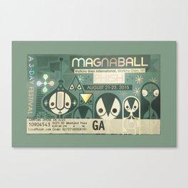 Concert Ticket Stub - Phish Canvas Print