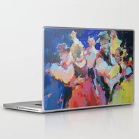 folk Laptop & iPad Skins featuring Folk  by Renata Domagalska