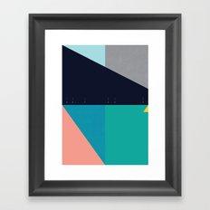 FLEECE, FOG, FARALLON 2 Framed Art Print