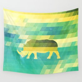 Orion Rhino Wall Tapestry