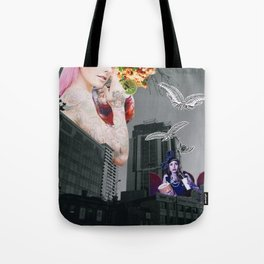 Food fantasy collage series #1 Tote Bag