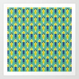 Digital Love (Patterns Please) Art Print