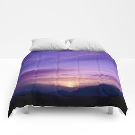 SW Mountain Sunrise - 7 Comforters