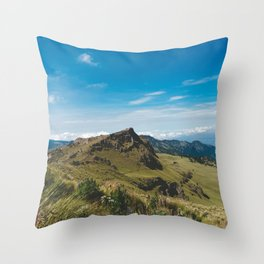 View Hiking up Iztaccihutal Volcano, Mexico City 3 Throw Pillow