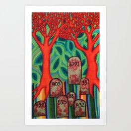 Mile 003 Art Print
