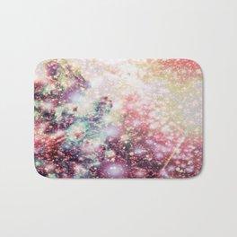 Pastel Sparkle Galaxy Africa Bath Mat