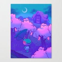 Midnight Lily Canvas Print