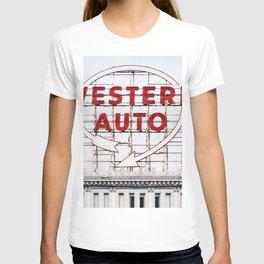 Western Auto Vintage Neon Sign T-shirt
