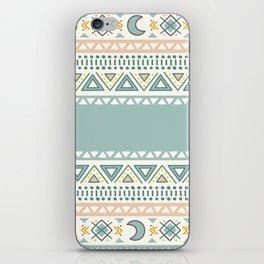 Colorful Geometric Boho Style 1 iPhone Skin