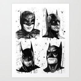 All the Bats Art Print