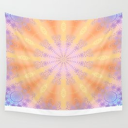 Let the Sun Shine Mandala Wall Tapestry