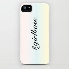 Girlboss iPhone Case
