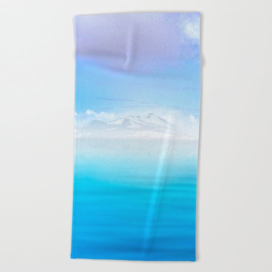 Pastel vibes 44 Beach Towel