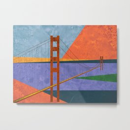 Golden Gate Bridge II Metal Print