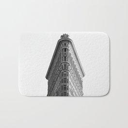 Flatiron Black and White NYC Bath Mat