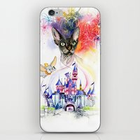 simba iPhone & iPod Skins featuring Simba the princess sphynx by Psyca