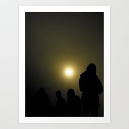 Bali Fog Art Print