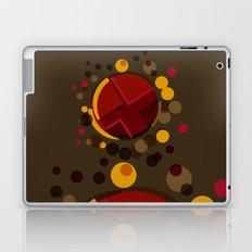 Circular Brown Abstract Dots Texture Laptop & iPad Skin