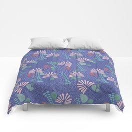 Botanical Geometry-H01 Comforters