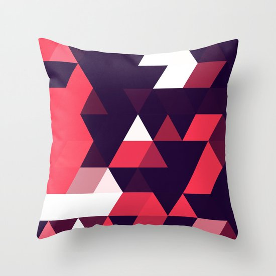cyrysse lydy (flat version) Throw Pillow