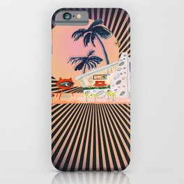 Atomic Age Collage iPhone Case