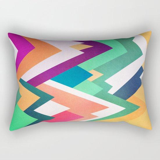 Summer Peaks Rectangular Pillow
