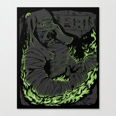 Return to Ashes Canvas Print