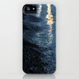 seashore in the evening iPhone Case