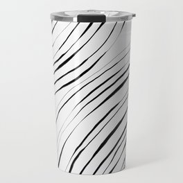 Black Circles Travel Mug