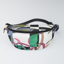 GEOMETRIC ABSTRACT PATTERN Fanny Pack