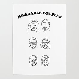 Miserable Couples Poster
