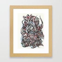 Beardfish Framed Art Print