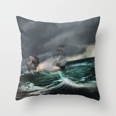 Pirate of the caribbean Throw Pillow