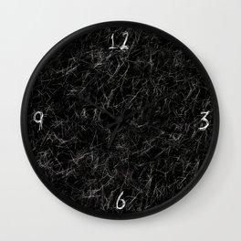 Fur Everywhere Wall Clock