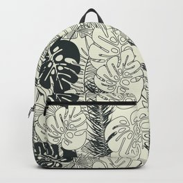Tropical pattern 035 Backpack