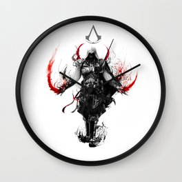 assassin's creed ezio Wall Clock
