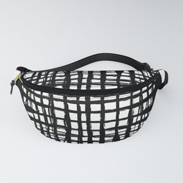 black and white screen Fanny Pack