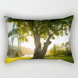 Tree of Light Rectangular Pillow