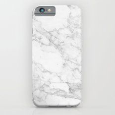White Marble Edition 2 Slim Case iPhone 6s