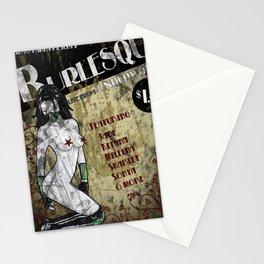 Jade Burlesque Poster Mortal Kombat Stationery Cards