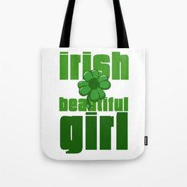 Irish Beautiful Girl Tote Bag