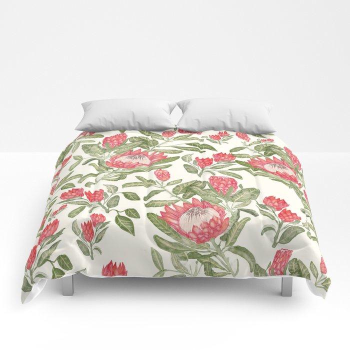 Protea Pattern Comforters