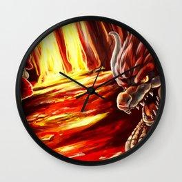 The Eternal Rivalry Wall Clock