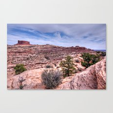 Monitor Butte on the Colorado Plateau Canvas Print